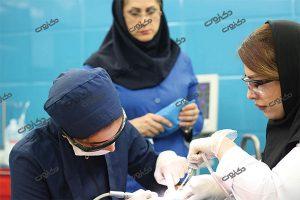 جراحی دندان در اتاق عمل کرج